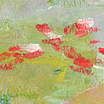 monet detail 2 On Painting Flowers